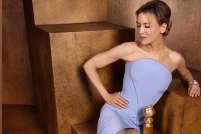 Renee Zellweger Stuns In Armani Prive With David Webb Jewels