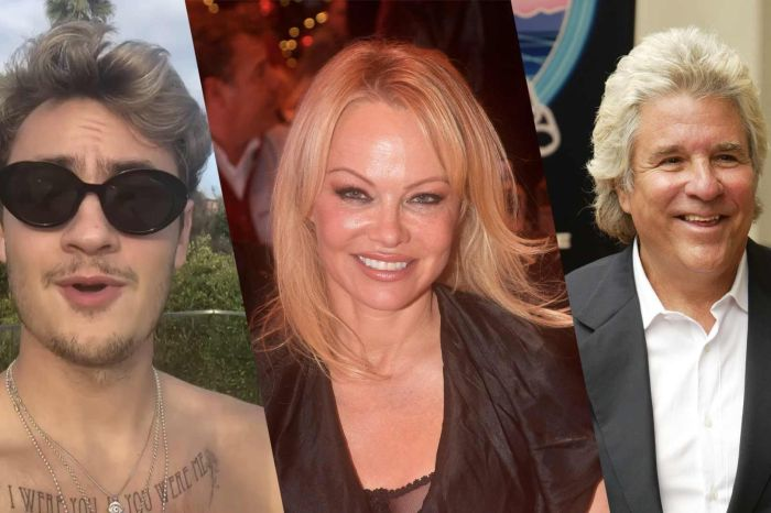 Pamela Anderson - Here's What Her Son Brandon Thinks Of Her Marrying Jon Peters!