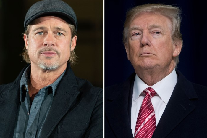 Brad Pitt - Here's What He Thinks Of Donald Trump Throwing Shade At Him!