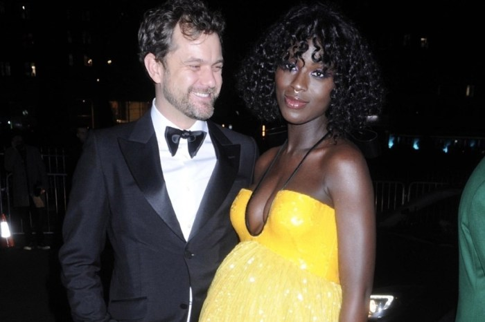 Jodie Turner-Smith Shows Off Her Baby Bump At The Pool As She & Joshua Jackson Prepare To Welcome Baby Girl Any Day Now