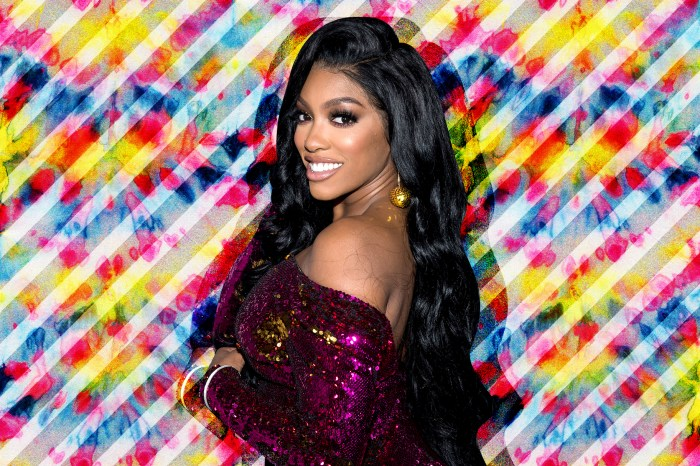 Porsha Williams Shows Off Her Tummy And Gorgeous Braids In A New Photo