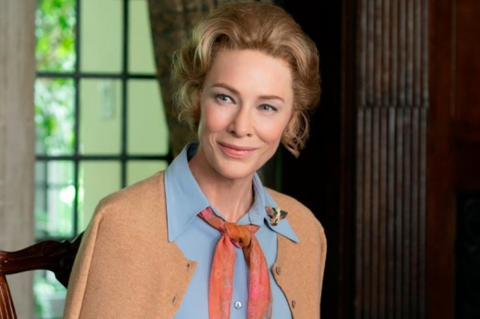 Cate Blanchett Takes On Anti-Feminist Role In New Limited Series 'Mrs. America'