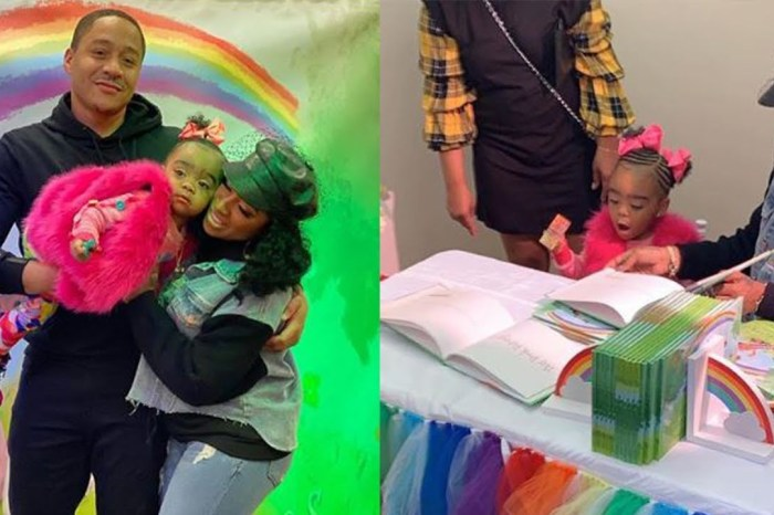 Toya Johnson's Baby Girl, Reign Rushing Looks Like A Walking, Living Doll In The Latest Photos