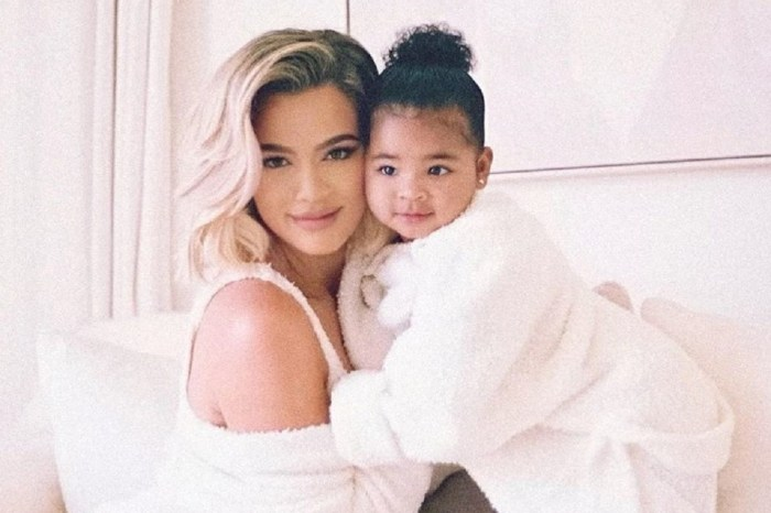 True Thompson Gets Into Her Mother's Khloe Kardashian's Lipstick — See The Photos
