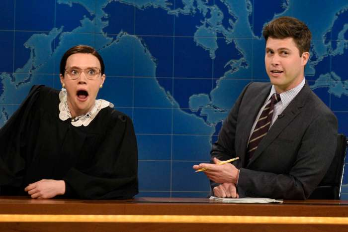 Kate McKinnon Pays Tribute To Ruth Bader Ginsburg Who She Also Portrayed On SNL!