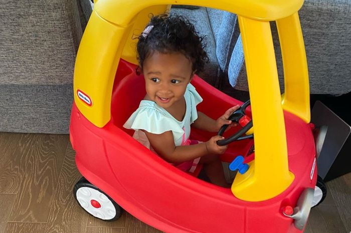 Kenya Moore's Baby Girl Brooklyn Daly's Photos At A Farm Will Make Your Day