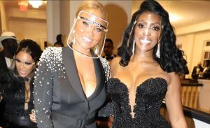 Gizelle Bryant Says She Left Cynthia Bailey's Wedding Because Guests Took Off Their Masks