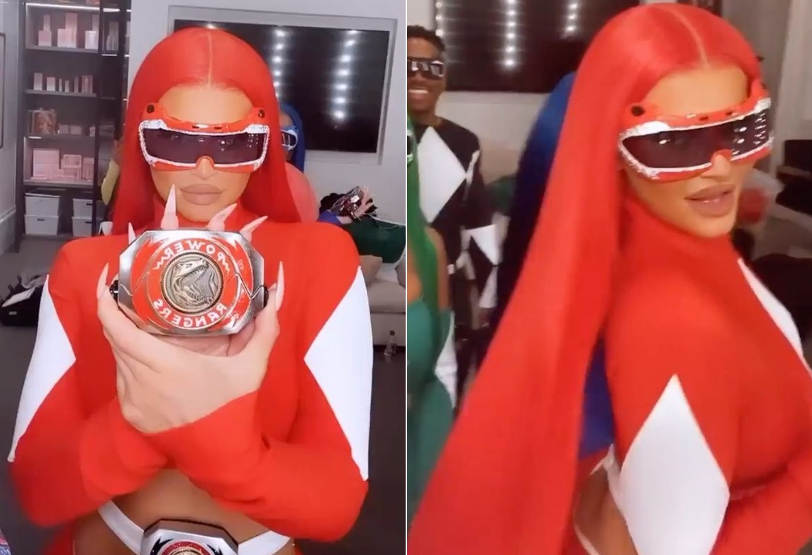 kuwtk-star-kylie-jenner-is-a-sexy-red-power-ranger-ahead-of-halloween-check-her-video-here