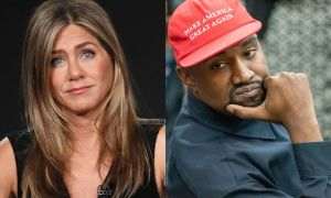 Jennifer Aniston Urges People To 'Be Responsible' And Not Waste Their Votes On Kanye West!