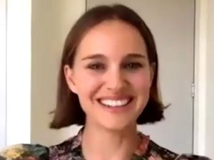 Natalie Portman Promotes Her Book Fables In Floral Zimmermann Dress