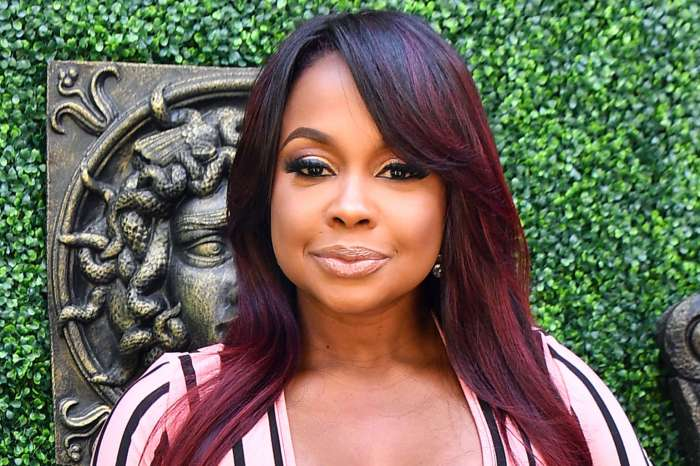 Phaedra Parks Shows Off Her Best Assets In A Black Outfit - See Her Curves
