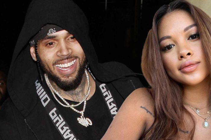 Chris Brown And Ammika Harris Reunite! See The Family Photo With Baby Aeko