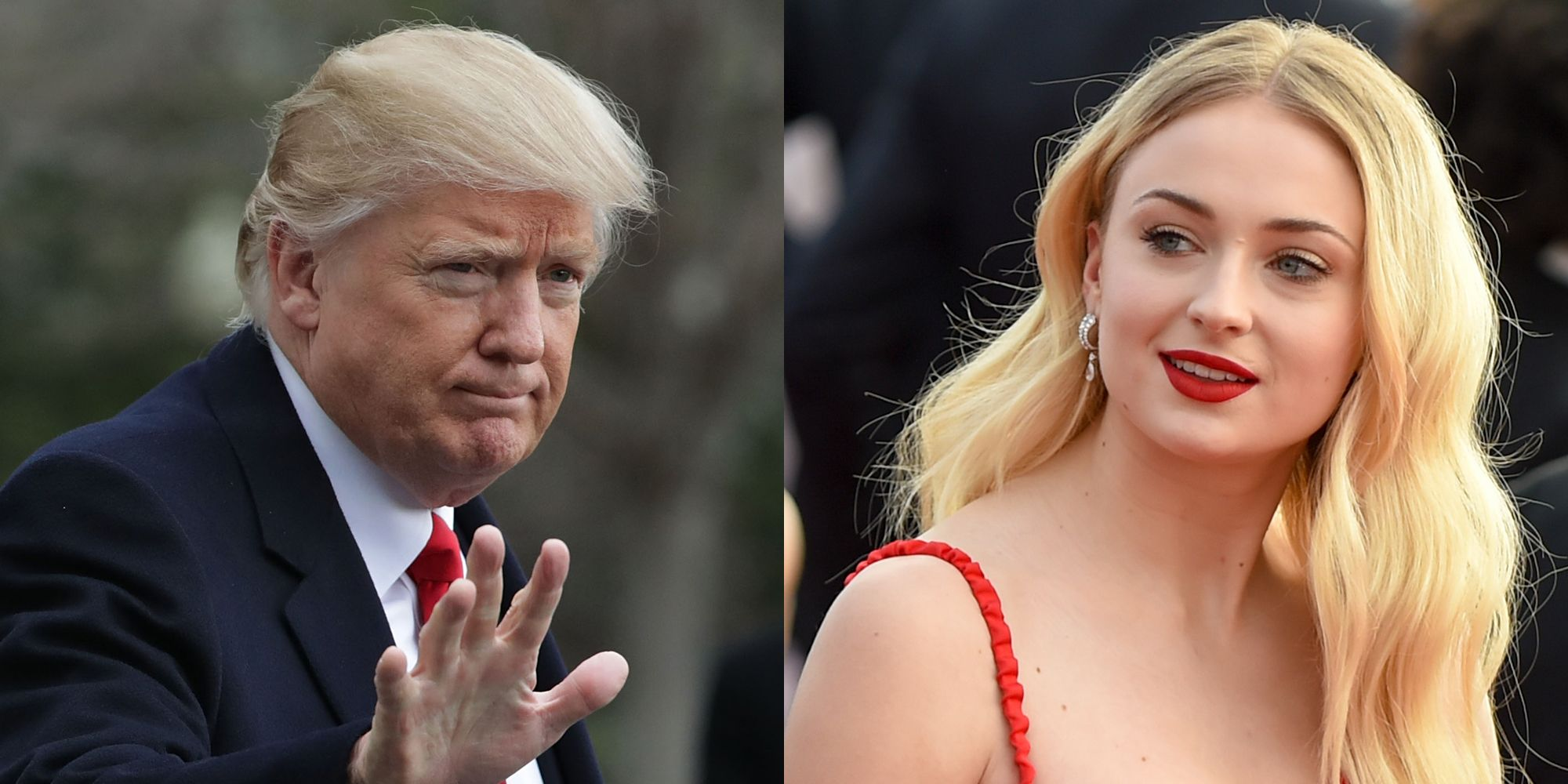 """""""sophie-turner-laughs-at-donald-trump-for-referring-to-europe-as-a-country"""""""