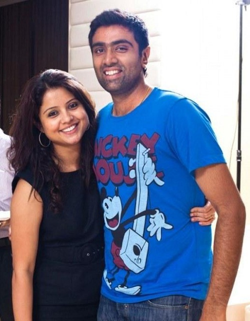 R Ashwin And His Wife Ravichandran Ashwin fa...