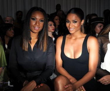 Ciara attends the Givenchy Ready to Wear SpringSummer 2012 show-01