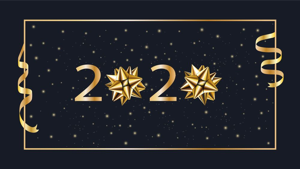 Happy New Year Wishes Images and New Year 2020 Poster
