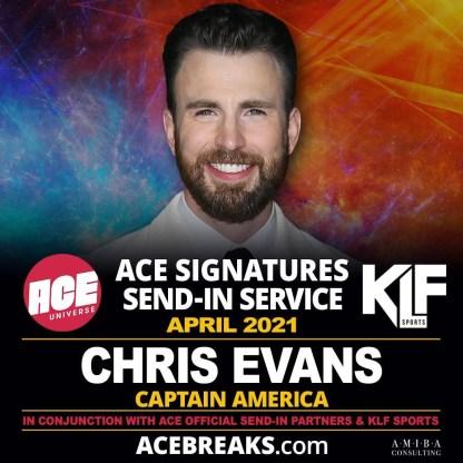 chris evans signing