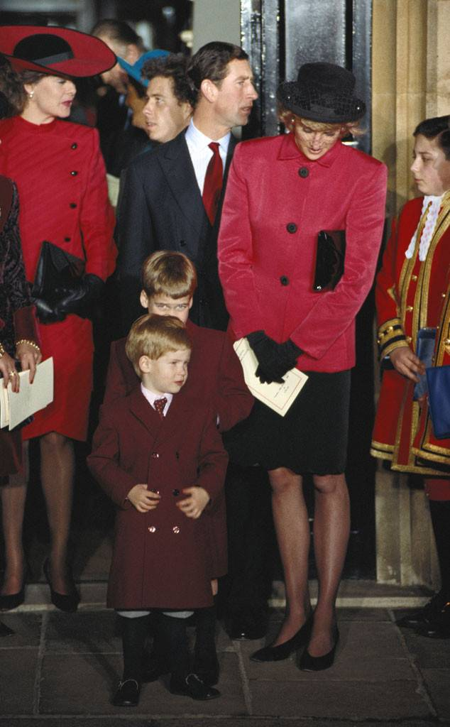 Royal Christening, Princess Beatrice Of York, Prince William, Prince Harry, Prince Charles, Princess Diana