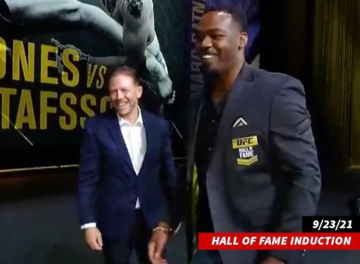 jon jones hall of fame UFC