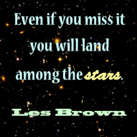 Les Brown: Shoot for the Moon!
