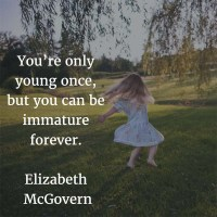 Elizabeth McGovern: You're Only Young Once