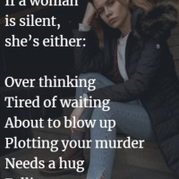 If a Woman Is Silent, She Needs a Hug