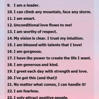 33 Affirmations to Build Your Confidence!
