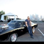 Dodge Charger and Vin Diesel Image.
