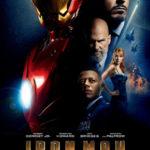 Iron man movie poster image.