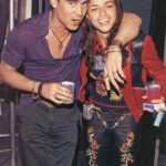 Michelle Rodriguez and her ex boyfriend Colin Farrell