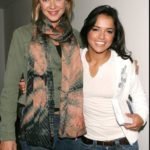 Rodriguez and her ex girlfriend Kristanna Loken