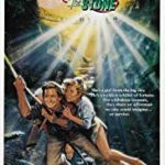 Romancing the Stone(1984) movie poster image.