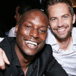 Tyrese Gibson with his best friend Paul Walker