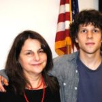 jesse eisenberg and his mother