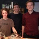 Art Parkinson with his brothers Pearce Parkinson and Padhraig Parkinson