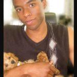 Charlie Boseman pet