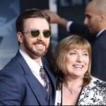Chris Evans with his mother Lisa Evans