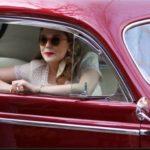 Elizabeth Olsen car Volkswagon