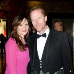 Iain Glen with Charlotte Emmerson