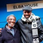 Idris Elba with his father Winston Elba