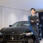 Kim Soo Hyun's Maserati