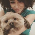 Nathalie Emmanuel pet dog