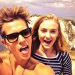 Sophie turner ad her EX boyfriend James McVey