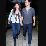 Taylor lautner dated Marie Avgeropoulos