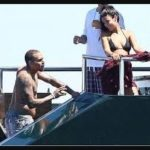 Chris Browna and Anara Atanes dated
