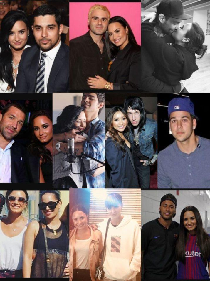 Demi Lovato dating history