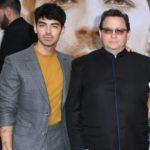 Joe Jonas with his father Paul Kevin Jonas Sr.