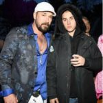 Justin Bieber with his father Jeremy Jack Bieber