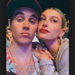 Justin Bieber with his wife Hailey Baldwin