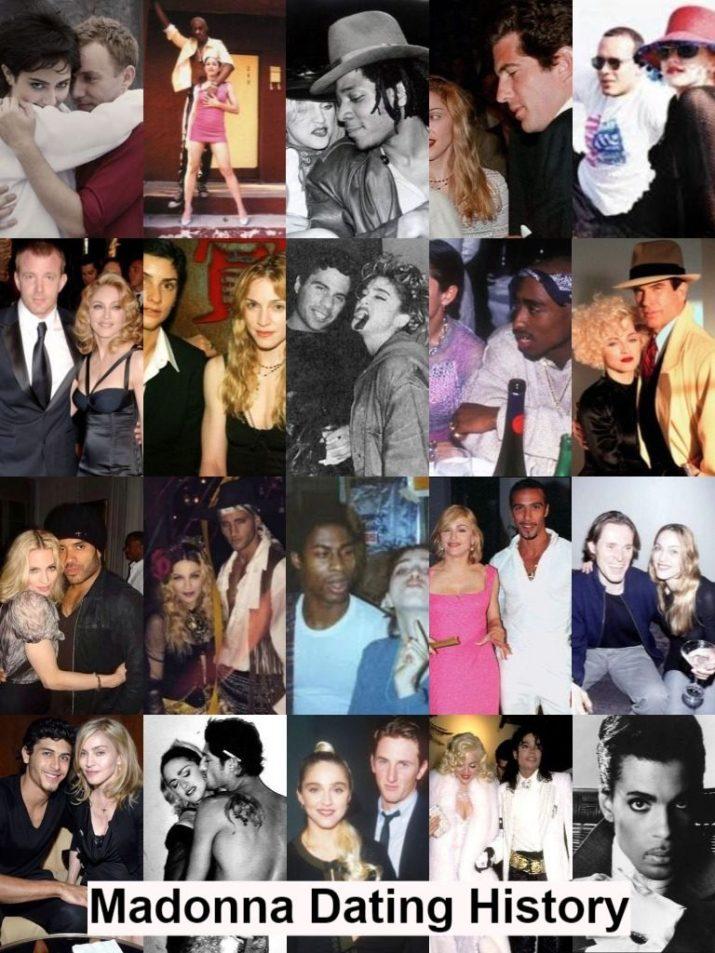 Madonna dating history